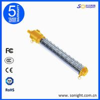 Linear long shape led explosion proof light for mines ship vessel AC85-264V