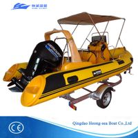 Best selling rib boats rib-520 with CE certificates for sale thumbnail image