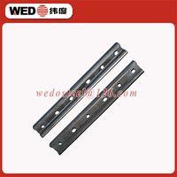 WEDO 60KG railway steel fish plate/insulated rail joint