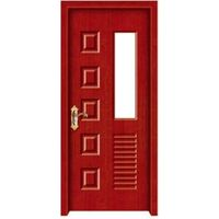 PVC MDF Glass Design Door thumbnail image