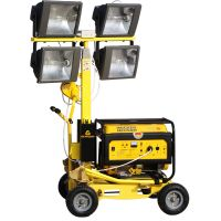 China supplier wacker type lighting tower with manual lifting thumbnail image