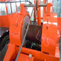 Petroleum Workover Rig Hydraulic Winch for Exploration Drilling