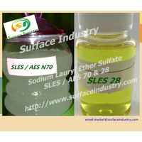 Sodium Lauryl Ether Sulfate,SLES 70 and 28 for Cosmetic thumbnail image