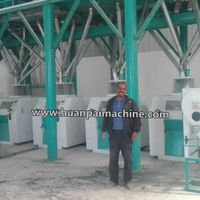 6FYDT-50series maize processing equipment, wheat flour mill, corn flour machine