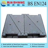 SUN SHINING Ductile Iron Manhole Cover thumbnail image