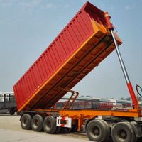 Low Price Dump Trailer With Good Condition