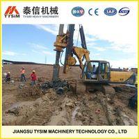 hydraulic rotary drilling rig KR125A