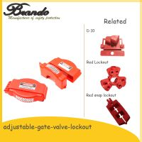 Hot Selling Red Color Adjustable Gate Valve Lockout Safety Lockout thumbnail image