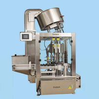 SCR-150  Fully automatic press and screw-in capping machine
