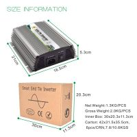 1000w MPPT grid tie micro inverter suitable for 36cells or 60cells or 72 cells solar panel
