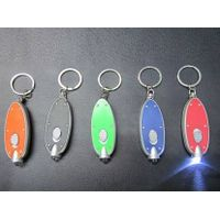 fish shape LED key chain
