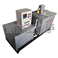 Multifunctional mobile high and low temperature experimental quenching tank