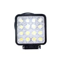 48watt IP67 Epistar chips PC lens square LED work light LED headlamp