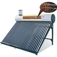 integrative copper coiler solar water heater