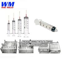 plastic medical syringe mould&disposable syringe mold thumbnail image