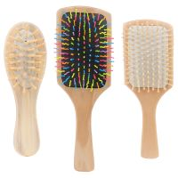China manufacture wooden handle custom hair brush