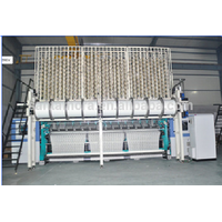 high performance Karl Mayer type raschel warp knitting machine