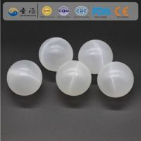 PP ( Polypropylene ) 60 mm hollow plastic balls for water treatment