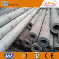 Trade Assurance AISI304 Seamless Stainless Steel Pipe for Industry Material