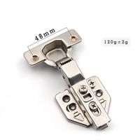 half overlay steel clip on iron kitchen cupboard concealed cabinet hinge thumbnail image