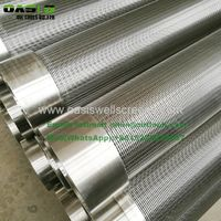 Stainless steel Standard Water Well Screens For Deep Water Well