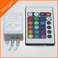 24 keys IR RGB LED Controller / Dimmer 6A DC 12V thumbnail image