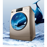Drum washing machine fully automatic 10 kg frequency conversion large capacity large touch screen do thumbnail image