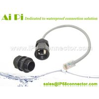 Waterproof RJ45 Connector With Cable thumbnail image
