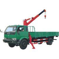 lorry-mounted crane