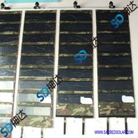 110W folding solar panel for army use
