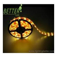 SMD3528 PU glue flexible strip 60LED/m with yellow PCB