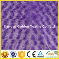 100% polyester 5mm faux fur fabric