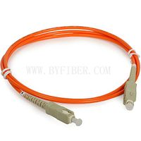 SC-SC Simplex Multimode Fiber Optic Patch Cable