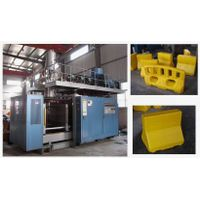 Extrusion blow molding machine ZK-100B road barrier tank bus seat