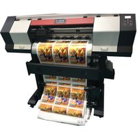 Small Size Digital Printer Vinyl Inkjet Printer ECO Solvent Printer Textile Inkjet Printer