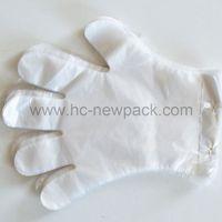 PE glove disposable transparent hdpe glove plastic polyethylene gloves thumbnail image
