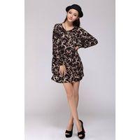 Women's Long-Sleeve Velvet Dress-High Quality fabric -The Cheapest Custom-made