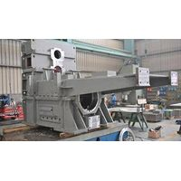 Fabricahtion and machining work of steel frame for papermaking machine thumbnail image