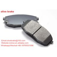factory price auto disc brake pads with good quality
