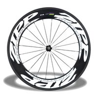 ZIPP 808 90mm Clincher Bicycle Wheels 700C Carbon Fiber Road Bike Racing Wheels