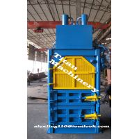 waste cotton cloth fibric packing processing machine