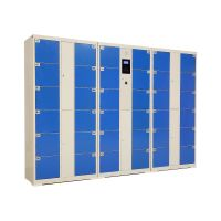 Smart touch screen electronic locker Face recognition system metal locker thumbnail image