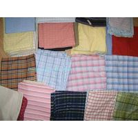 sell yarn dyed shirting fabric