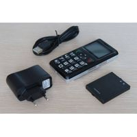 Portable GPS Tracker, Phone Alarm/Remote Monitor Function, Fast Dial Button, Located by SMS/Interne