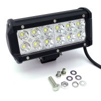 36W 12V-24V Spot Flood Beam LED Work Driving Light bar spot lamp 4X4 ATV DRIVING SUV