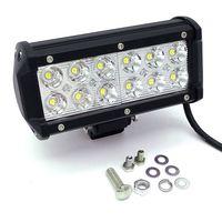 36W 12V-24V Spot Flood Beam LED Work Driving Light bar spot lamp 4X4 ATV DRIVING SUV