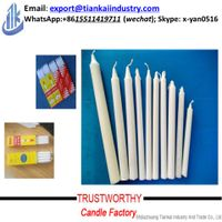 household spiral/taper/stick candle with factory price thumbnail image