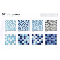 Ceramic Mosaic tile for 1 pack swimming pool