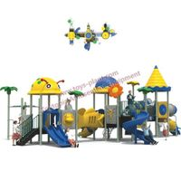 Outdoor playground equipment, carton slide for kids, amusement park, Transformers type