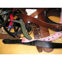 profitable second hand belts, inspected : no junk or messed up pieces